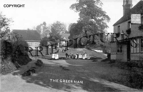Ham, The Green c1900