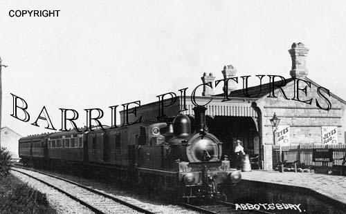Abbotsbury, Station c1915