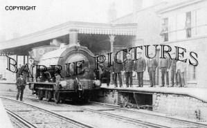 Bridport, Station c1900