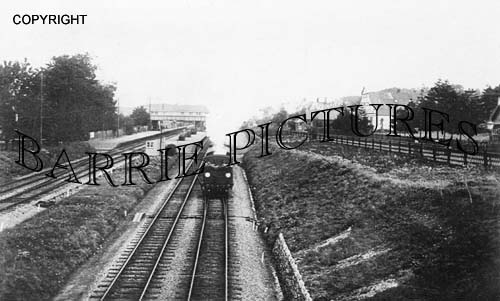 Broadstone, The Station c1910