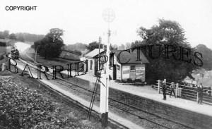 Spettisbury, Railway Station c1890