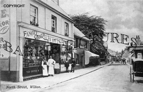 Wilton, North Street c1890