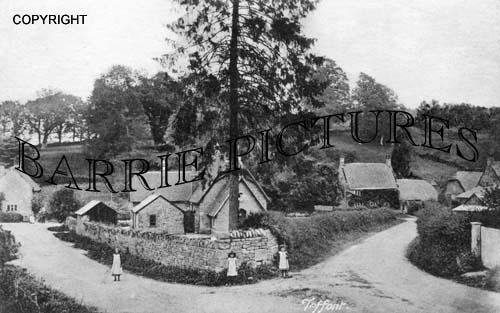 Teffont, Village c1890