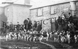 Zeals, South and West Wilts Hunt c1920