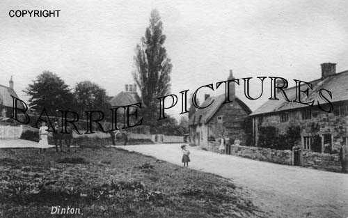 Dinton, Village c1910