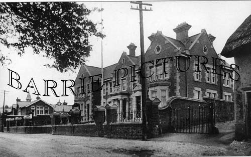 Amesbury, Police Station and Schools 1913