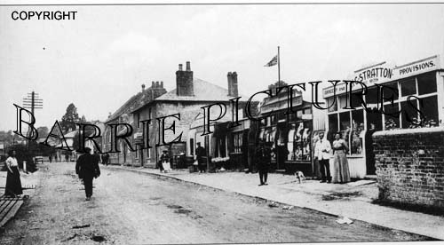 Codford St Mary, High Street c1910