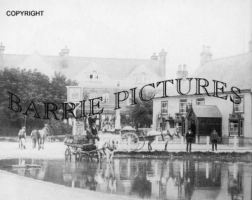 Ludgershall, The Village Pond c1910