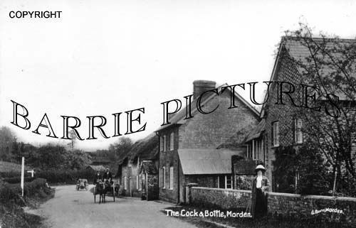 Morden, The Cock and Bottle c1910
