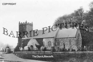 Bloxworth, Church c1900