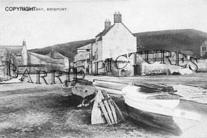 West Bay, The Harbour c1890
