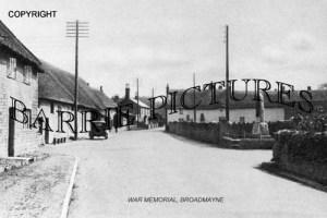 Broadmayne, War Memorial c1950