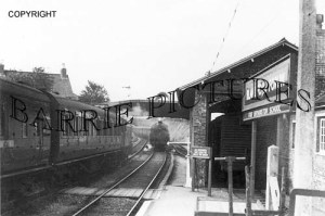 Blandford, Station c1950