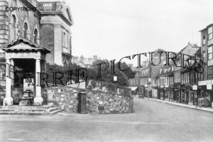 Blandford, East Street c1950