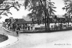 Blandford St Mary, c1900