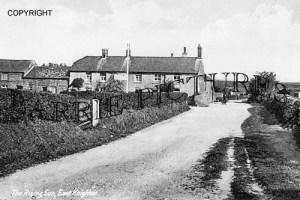 East Knighton, The Rising Sun c1910
