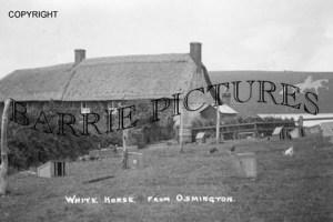 Osmington, White Horse from Osmington c1910