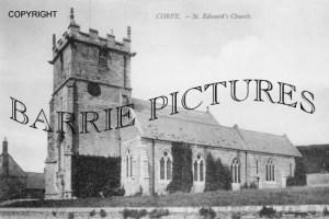 Corfe Castle, St Edwards Church c1930