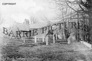 Tyneham, The Church c1890