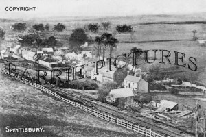 Spettisbury, Village c1910