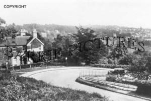 Broadstone, Hairpin Bend c1940