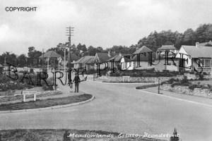 Broadstone, Meadowlands Estate c1950