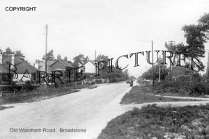 Broadstone, Old Wareham Road c1935