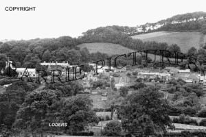 Loders, Village c1940