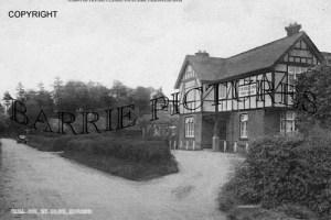 Wimborne St Giles, Bull Inn c1930