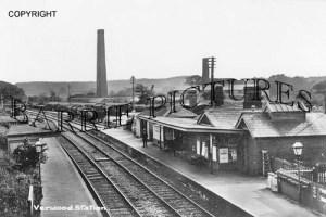 Verwood, Station c1920