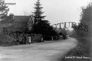 West Moors, Station Road c1950