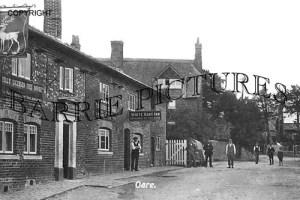Oare, The White Hart Inn c1910