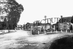 Amesbury, War Memorial c1945