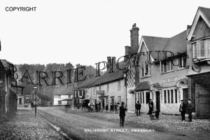 Amesbury, Salisbury Street c1905