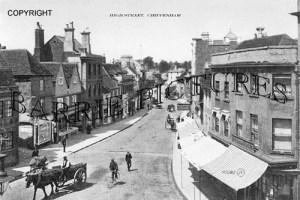 Chippenham, High Street c1905