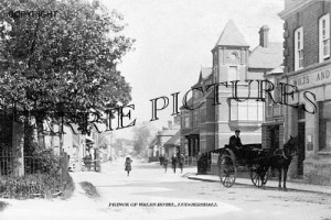 Ludgershall, Prince of Wales Hotel c1905