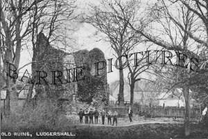 Ludgershall, Old Ruins c1915