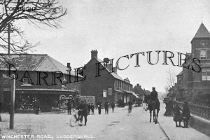 Ludgershall, Winchester Road c1905