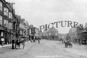 Marlborough, High Street c1900