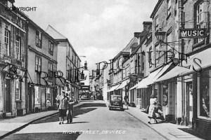 Devizes, High Street c1950