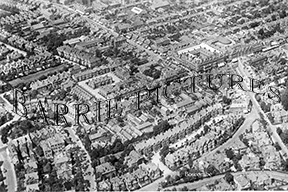 Boscombe, from the Air c1955