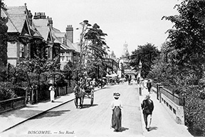 Boscombe, Station Road c1900