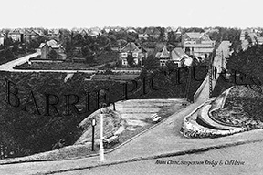Bournemouth, Alum Chine Suspension Bridge & Cliff Drive c19