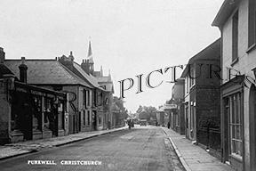 Christchurch, Purewell c1930