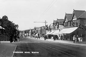 Winton, Wimborne Road c1910