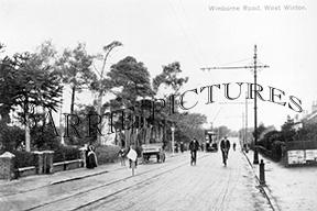 Winton, Wimborne Road c1905