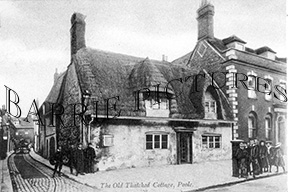 Poole, Old Thatched Cottage c1900