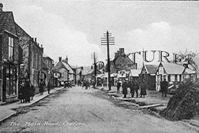 Codford, Main Road c1915