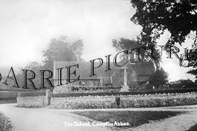 Compton Abbas, School c1930