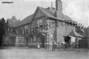 Moordown, the Horse and Jockey Hotel c1900
